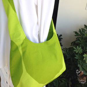 Marimekko Green Kivet Shoulder Cotton Bag