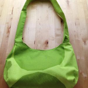 Marimekko Fabric Green Kivet Shoulder Cotton Bag