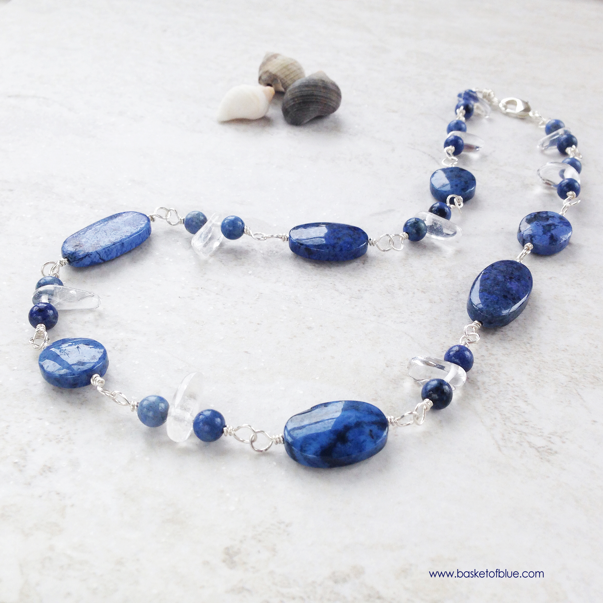 expand item filled with bead lazuli gold sodalite full and to blue lapis necklace click