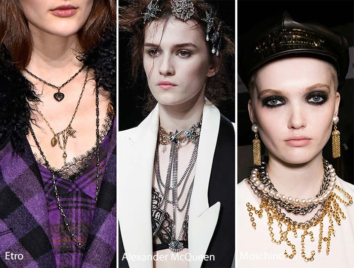 Multi layered Necklaces Trend 2017
