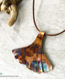 Mermaid tail necklace