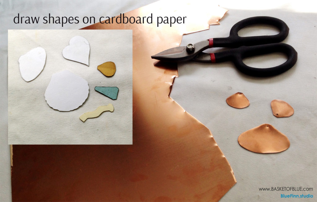 make your own copper shape templates