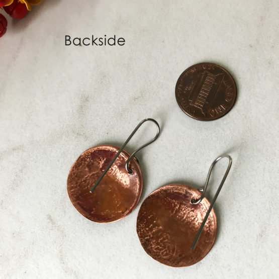 Fish Coin Earrings Ireland Coin with Salmon