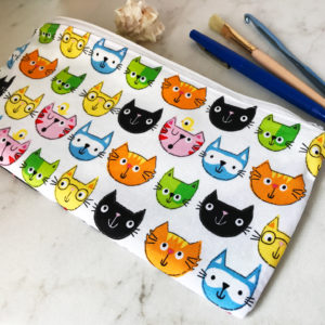 Cat Zipper Pouch