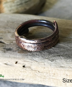 mixed metal wire ring