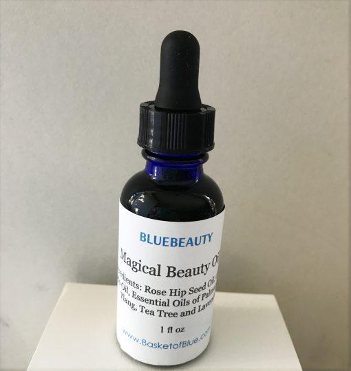 magical beauty oil by Blue Beauty
