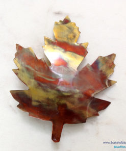 Maple Leaf Copper Barrette