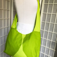 marimekko bag crossbody green kivet fabric hobo