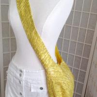 Linen Yellow Marimekko Villisika Hobo Shoulder Bag
