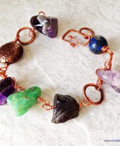 Chunky Multi Stone Bracelet