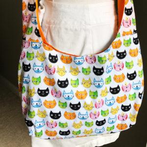 cat bag - shoulder bag cross body