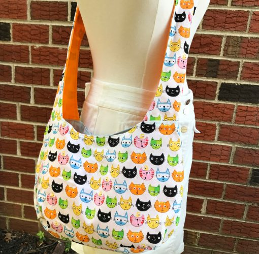cat bag - shoulder bag cross body