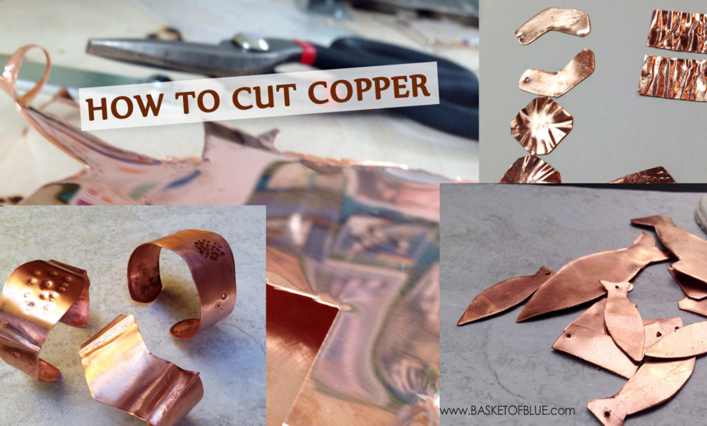 how to cut copper sheet