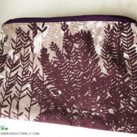 Marimekko Guada Fern Print Zipper Pouch