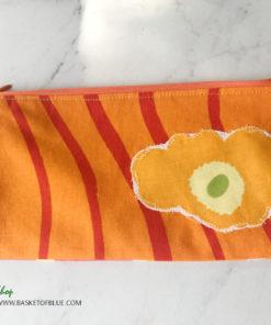 Marimekko fabric zipper pouch