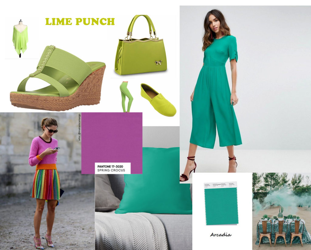 color trends 2018 arcadia lime punch spring crocus pantone colors