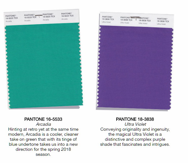 colors of the year - fashion trends - arcadia aqua green turquoise