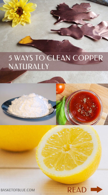 5 ways to clean copper naturally