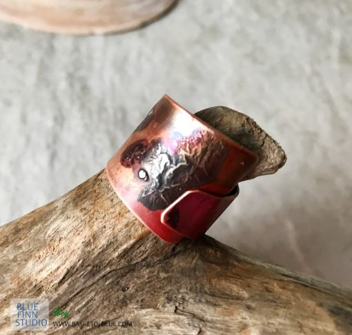mixed metal wrap ring