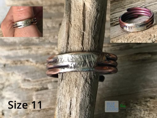 mixed metal ring
