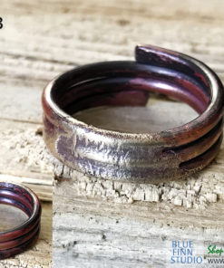 Men's Viking Style MIxed Metal Ring