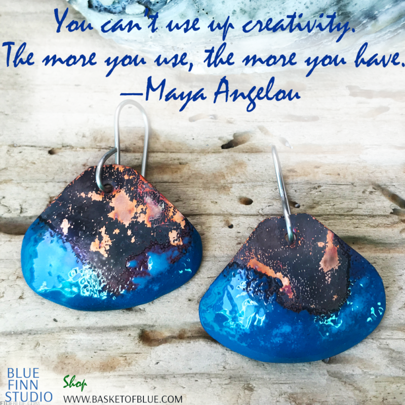 you can't use up creativity the more you use the more you have