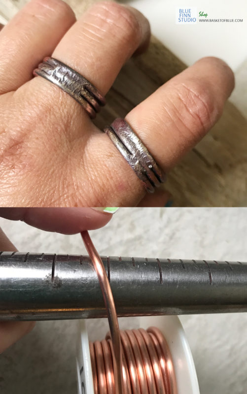 make a copper and sterling silver ring without soldering