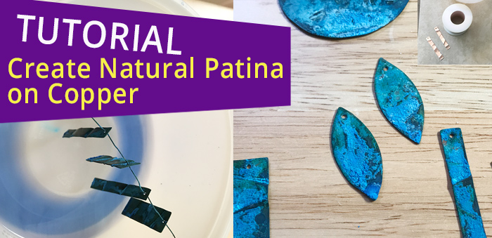 tutorial how to create patina on copper