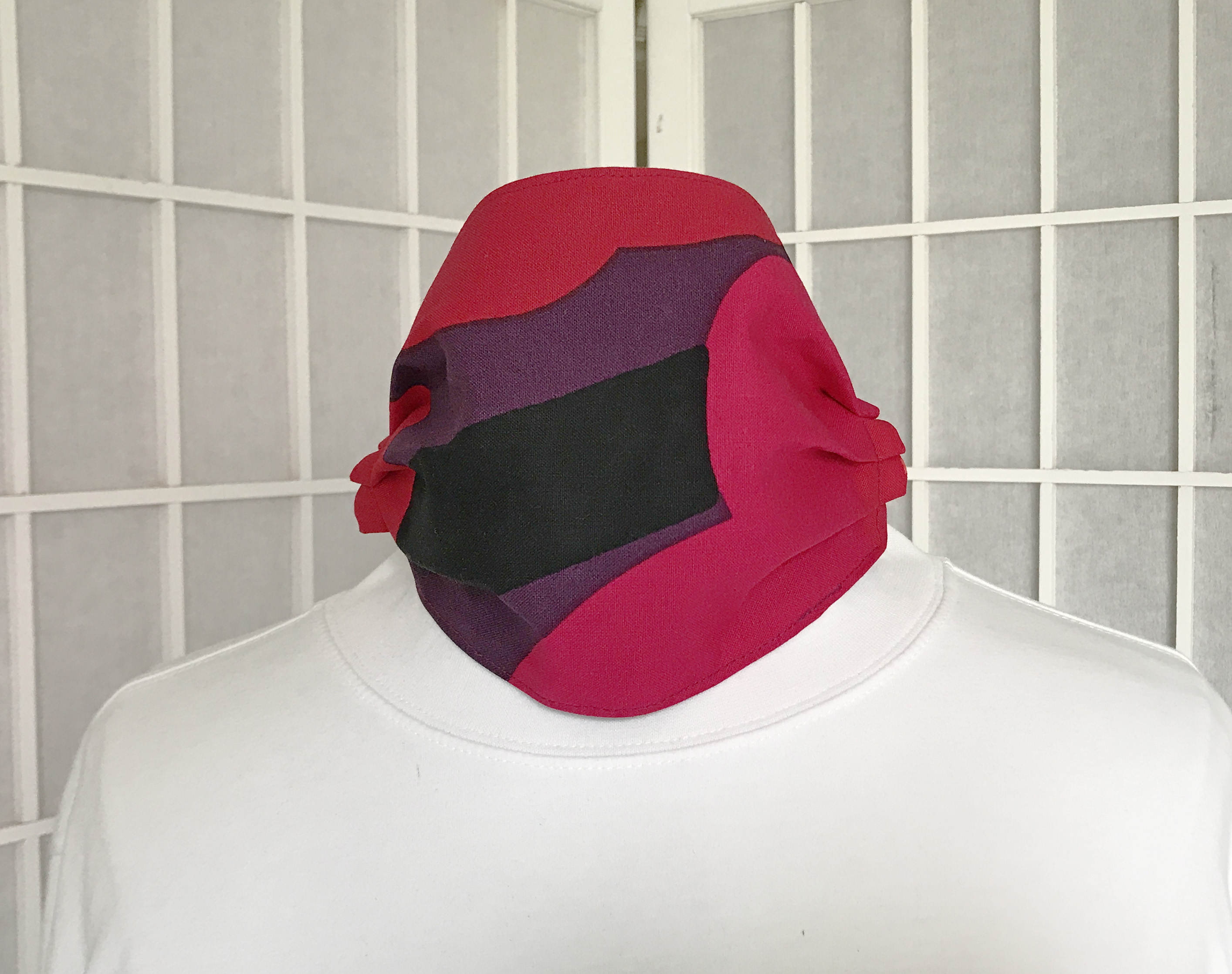 Marimekko Poppy Fabric Face Mask