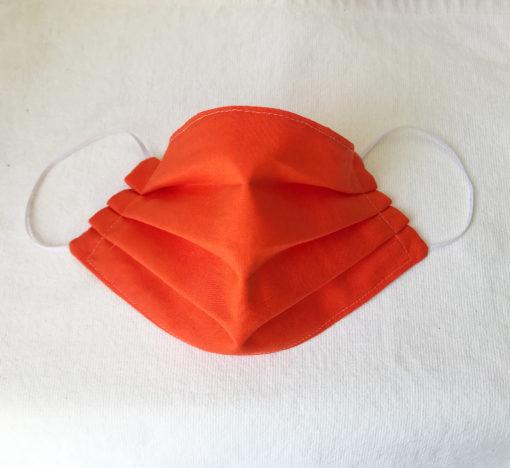 Marimekko fabric face mask Silkkikuikka blue or orange wave