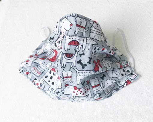 dog fabric face mask pet mask