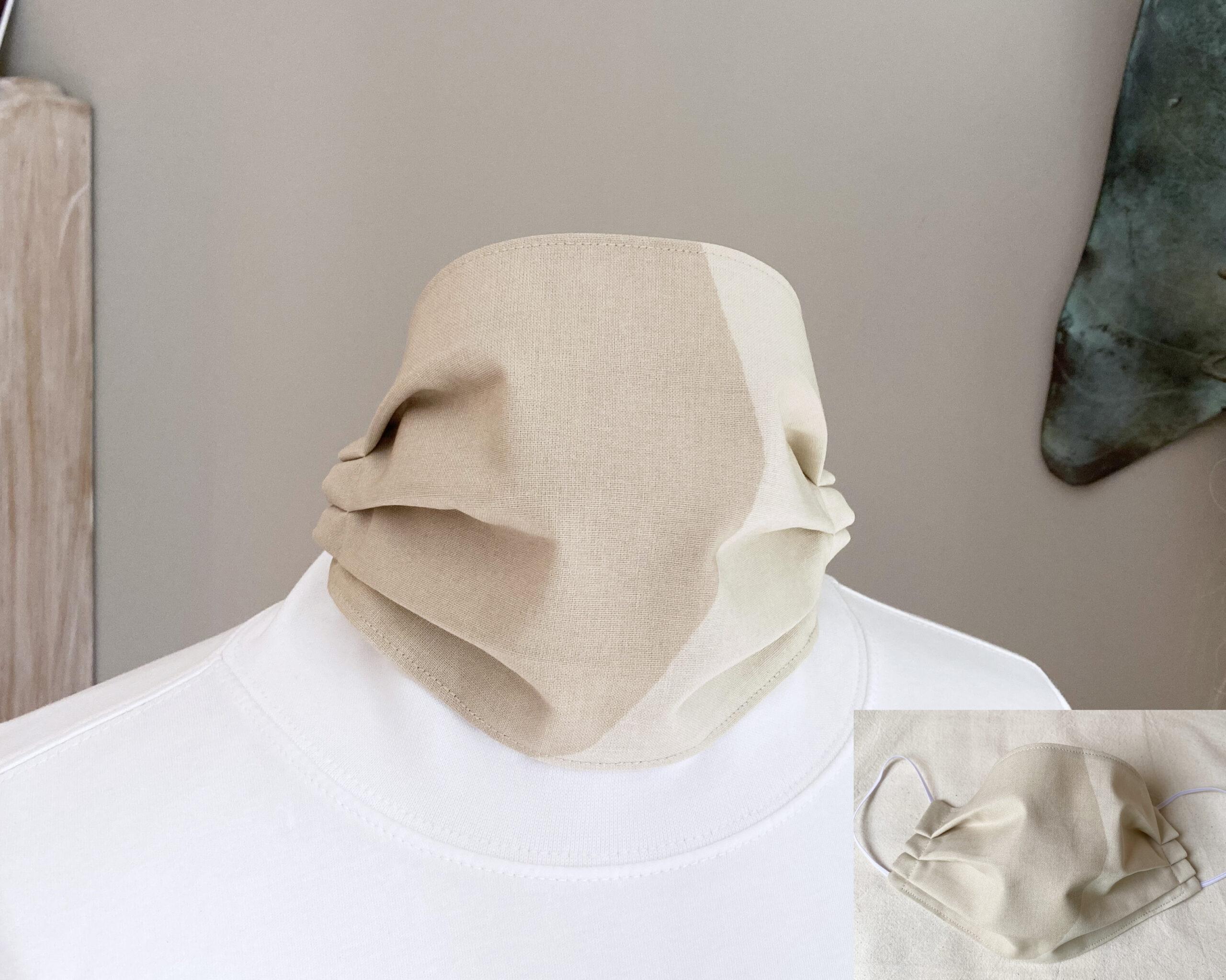 marimekko fabric face mask kivet