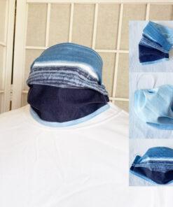 Marimekko fabric face mask Matkalla maalle