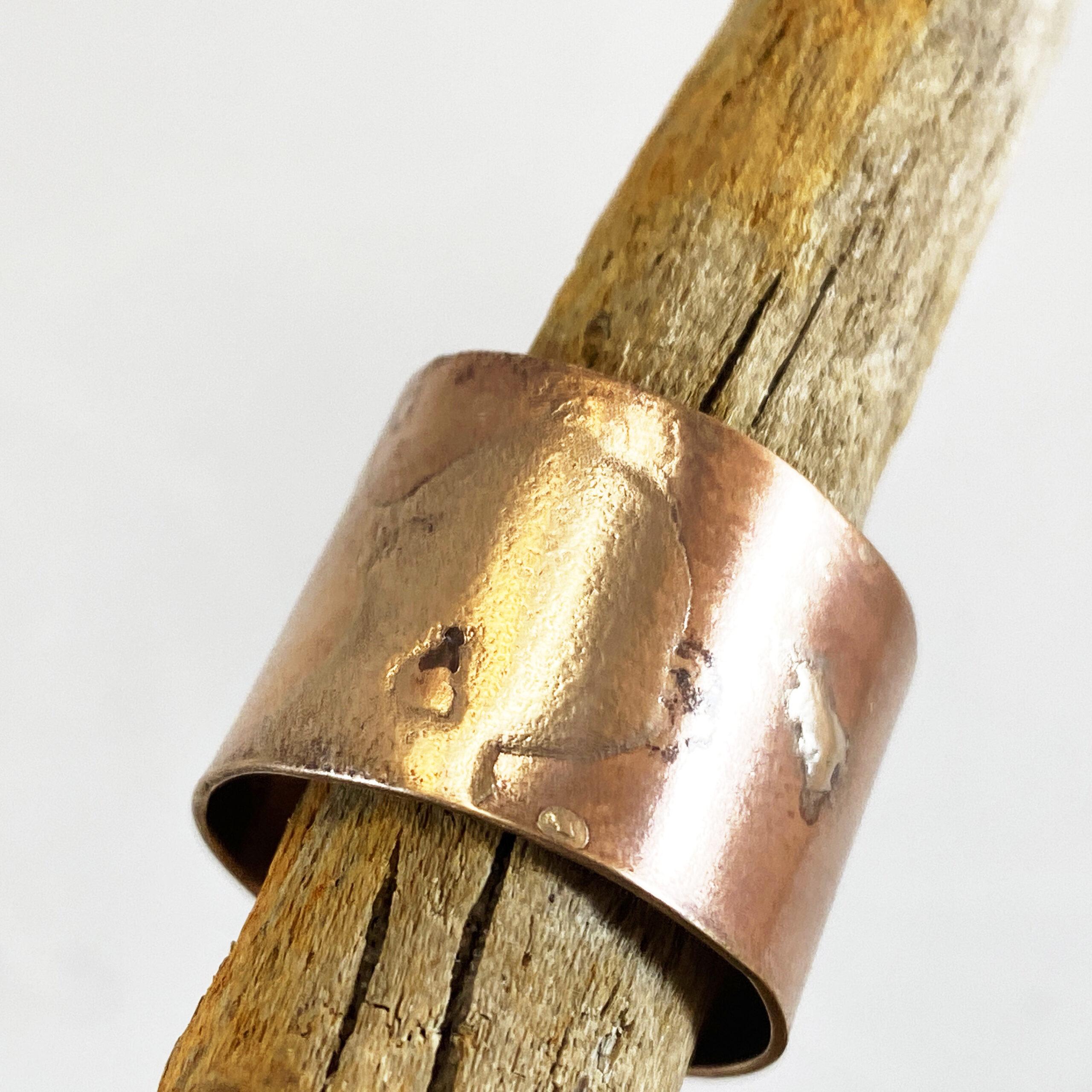 bronze wrap ring