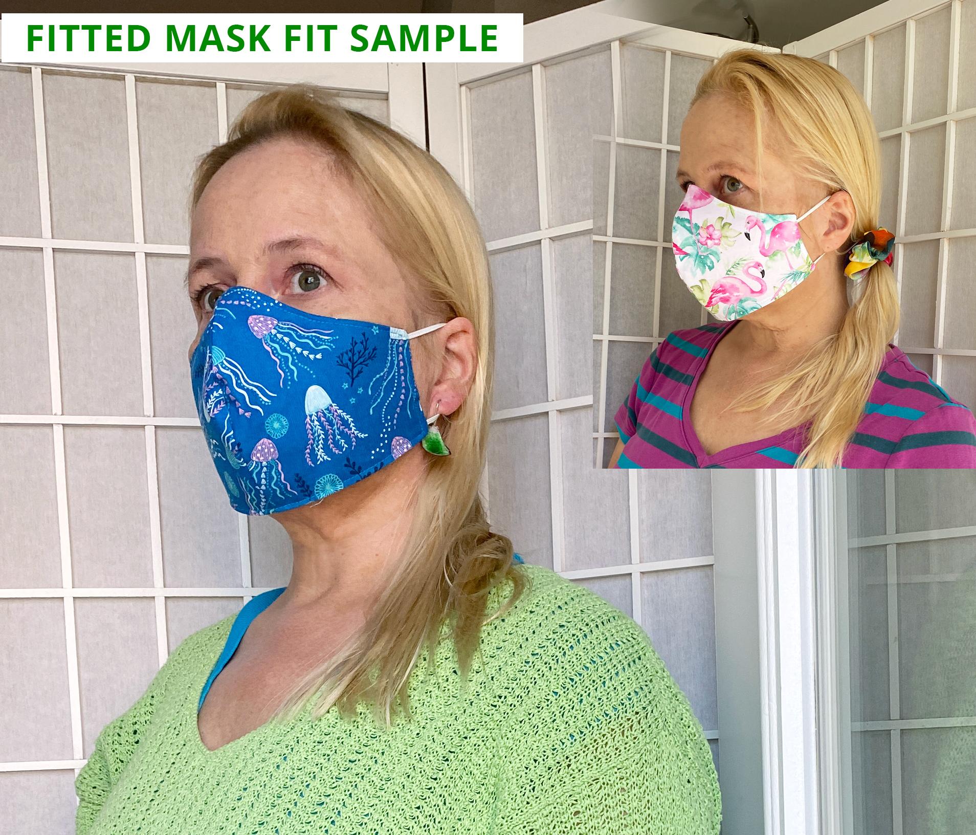 sandpiper face mask fit sample